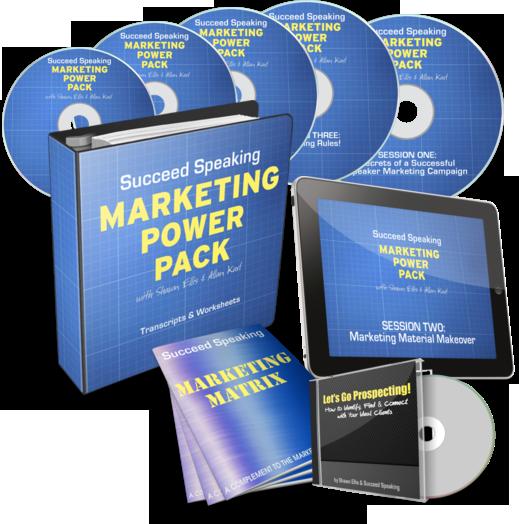 Marketing Training for Speakers