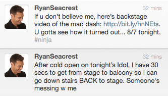 A Twitter Lesson from Ryan Seacrest